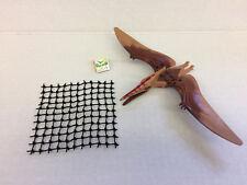 Lego Dino Pteranodon Minifigure & Net Only from Set 5883, Jurassic Dinosaur