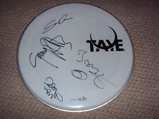 The Boomtown Rats (4 Original Members) Signed Autographed Drumhead W/PROOF + COA