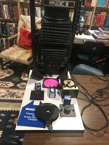Beseler 23C Series II Condenser Darkroom Photo Enlarger W/ Extras