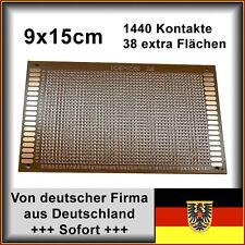 5 Stk. Lochraster Leiterplatte PCB Experimentierplatine 9x15cm 1440 Löcher