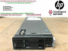 HP BL460c Gen8 v2 0x Heatsink 0GB NO CNTRL CTO Blade Server 735151-B21