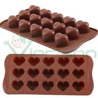 Stampo forma silicone Cuori cuore gelatina cioccolato cioccolatini caramelle