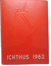 Rare 1962 Lancaster School of the  Bible Year Book Called the Ichthus