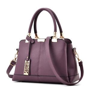 Women Leather Handbags Shoulder Lady Messenger Crossbody Tote Bags Purse Satchel