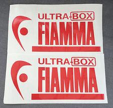 2 X FIAMMA ULTRA BOX CARAVAN/MOTORHOME  DECALS STICKERS VW CAMPER T4 T5
