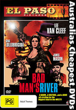 Bad Man's River DVD NEW, FREE POSTAGE WITHIN AUSTRALIA REGION 4