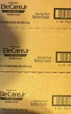 3 Cases - 14.1oz  18 cans EleCare Jr. UNFLAVORED Junior Formula Exp 01/03/23