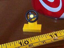 LEGO Yellow Steering Wheel Car Vehicle Spare Original