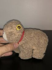 Vintage STEIFF CUDDLE BEAR WITH EAR TAG ANTIQUE KIDS DOLL STUFFED ANIMAL GERMANY