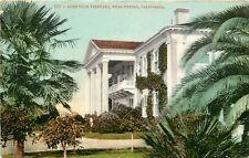 c1907 Mitchell Postcard 535 Sunnyside Vineyard near Fresno CA Posted