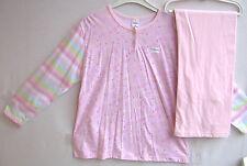 Sanetta  Girls Schlafanzug  lang rosa Blümchen Gr. 140 NEU UVP 32,95 €