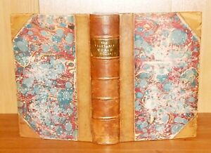 1868 Figuier THE VEGETABLE WORLD A History of Plants ILLUSTRATED New Edn