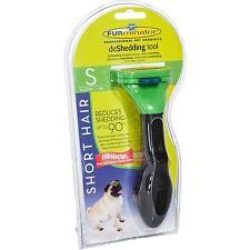 FURminator für kurzhaarige kleine Hunde, deShedding-Pflege Werkzeug Bürste Hund