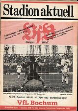 BL 81/82 VfB Stuttgart - VfL Bochum, 17.04.1982
