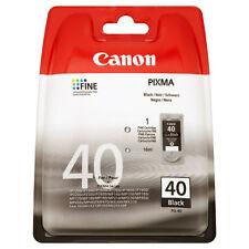 CANON ORIGINAL PG40 DRUCKER PATRONE PIXMA IP1900 IP2200 IP2500 IP2600 MX300
