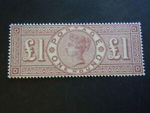 Gran Bretagna 1883 Regina PAUD Rarissimo perfetto francobolli nuovo M.N.H** RRR