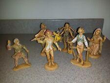 6 Fontanini Figurines 1983, Virgin Mary +