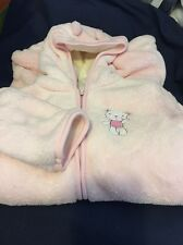 "Soft Pink ""Absorba"" 3-6 mos Girls One Piece Footie Snow Suit New With Tags"