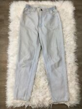 Vintage Lee MOM Skinny Jeans Light Wash Size 8S Stretch High Waist