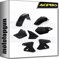 ACERBIS 0007586 PLASTICS KIT BLACK SUZUKI DRZ 400E 2015 15 2016 16 2017 17
