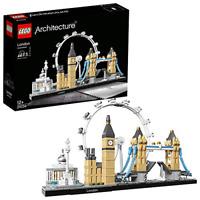 LEGO 21034 Architecture London Skyline Model Building Set, London Eye, Big Ben,