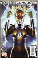 Nova #5-2007 nm- 9.2 Nova Marvel Abnett Lanning Annihilation Death of Dimples