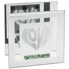 Love Heart Tea Light Holder Gift Sparkle 61491