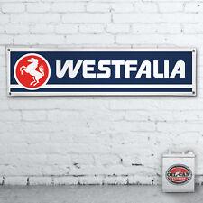 WESTFALIA vw camper conversion workshop  Banner  workshop, garage,1200x305mm