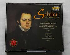 SCHUBERT Chamber music /PAUK-FRANKL-LAUTENBACHER..USA 3xCD Box VOX BOX CD3X 3042