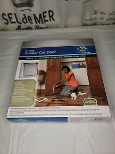 PetSafe CD10-050-11 2-Way Interior Cat Door Small 1 lb - 15 lb Brand New! A5