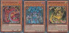 Yu-Gi-Oh! Lot des 3 Bêtes Sacrées Uria, Hammon & Raviel, LC02-EN001-EN003 UR NM