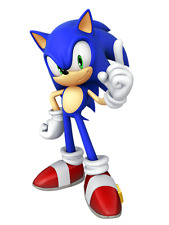Sonic The Hedgehog Iron On Transfer For Light Colored fabric