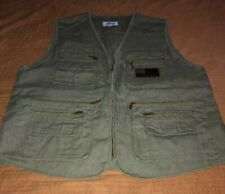 New Mens BLUE STONE XXL 2XL Tactical Vest Conceal/Carry Safari Safety Army Green