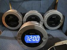 Sony Dream Machine ICF-CD3iP, CD, Clock Radio, Dual Alarm ipod/Phone Dock .