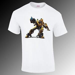 Bumblebee transformers printed t-shirt, movie, super hero Gift Funny S-XXL