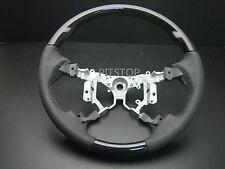 Toyota HILUX VIGO 2012-2014 Genuine leather wrapped steering wheel-Black piano