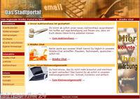 STADTPORTAL WEBPROJEKT Verzeichnis für Firmen + Vereine WEBSEITE E-LIZENZ NEU