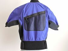 Rapidstyle Kayak Paddling Shirt Top Front Pocket Nylon Neoprene Small S Purple