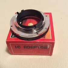 SIGMA IC ADAPTOR F5.6 MOUNT FOR YASHICA-CONTAX