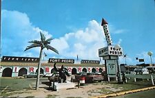 Fort Pedro Fireworks Stand Postcard c1960s South Carolina Border RPPC