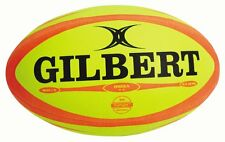 Gilbert Omega Fluoro Rugby Match Ball Size:5