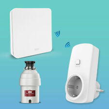 Food Garbage Disposal Wireless Switch EU Korea Outlet No Drilling Easy to use