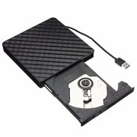 USB3.0 DVD RW CD Writer Slim Optical Drive Burner Reader Player Tray Type