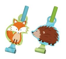 Forest Fox Party Supplies Blowouts