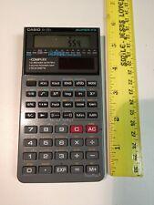Casio Super Fx 115D Solar Powered Scientific Calculator Used No Case