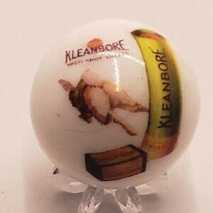 Kleanbore Hunting Shotgun Shell Gun Advertisement Shooter Marble