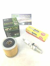 Tune Up Kit Yamaha Wolverine 4x4 350 YFM350fxt Spark Plug Oil Filter 1995-2005