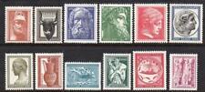 GREECE MNH 1954 SG713-24 Ancient Greek Art Set