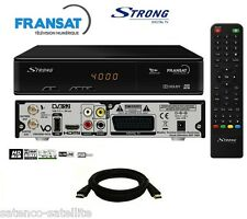 Pack Recepteur STRONG SRT 7405 HD + Carte FRANSAT receiver decodeur satellite
