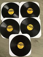"Prom 78rpm 10"" Records Lot Of 5"